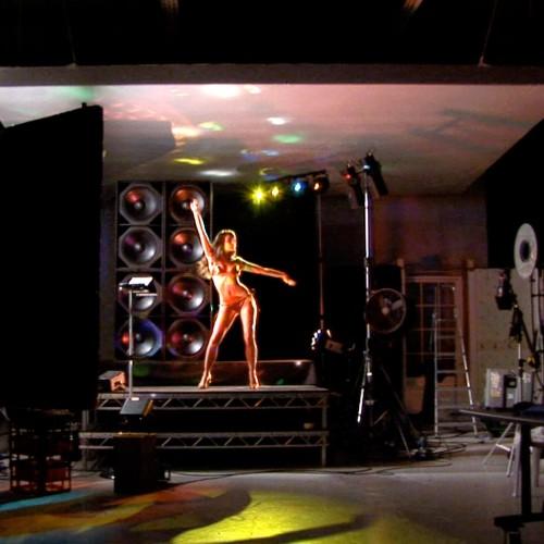 Behind the scenes with Lauren's dance video