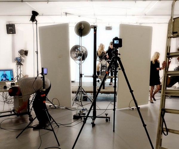 Behind the scenes at Basement Photographic