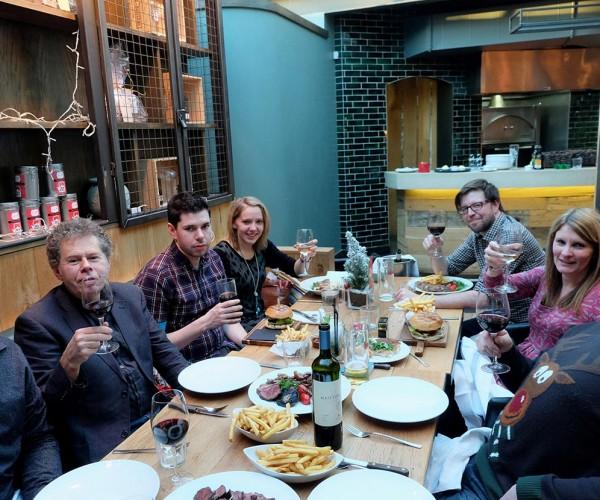 Basement Photographic's Christmas 2014 staff do