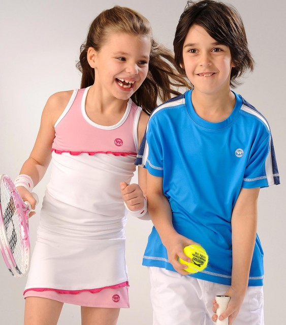 AELTC (Wimbledon): Fashion photography featuring children by Basement Photographic