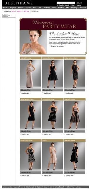 Fashion photography for Debenhams by Basement Photographic