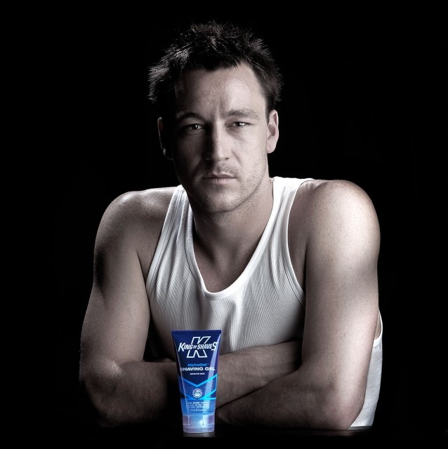 John Terry, Footballer (King of Shaves): Location photography by Basement Photographic