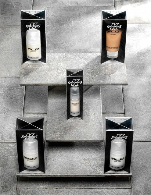 King of Shaves: Product photography by Basement Photographic