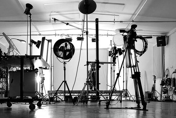 Basement Photographic's studio in use
