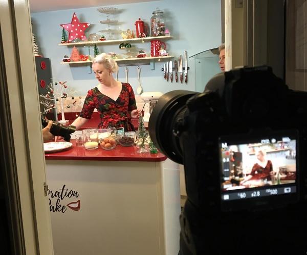 Charlotte White for California Raisins video by Basement