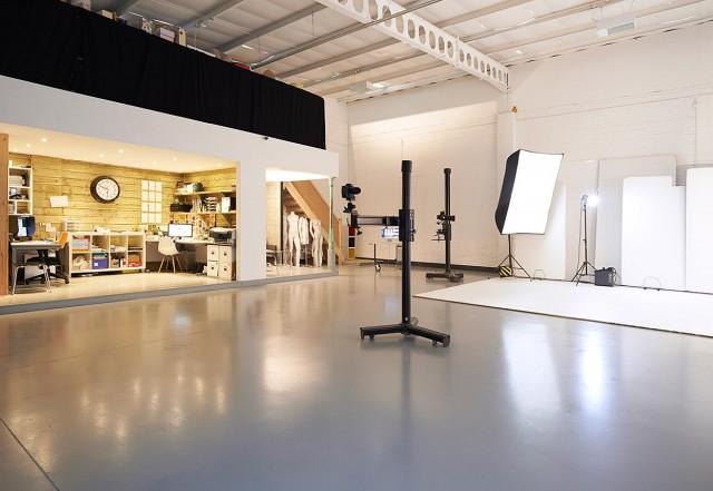 Studio B at Basement Photographic
