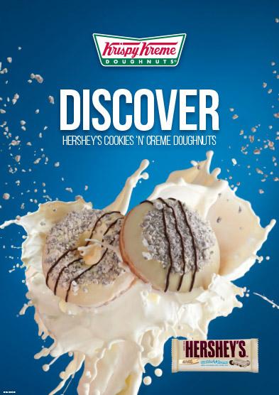 Krispy Kreme finished poster