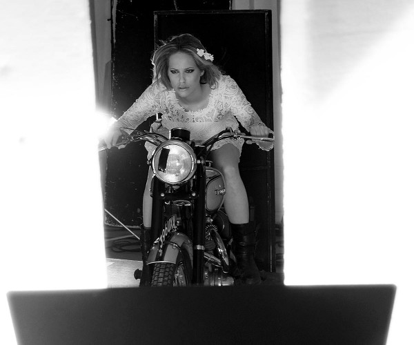 "Homage to a ""Girl on a Motorcycle"""