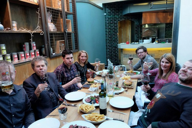 Basement Photographic's Christmas 2014 staff do